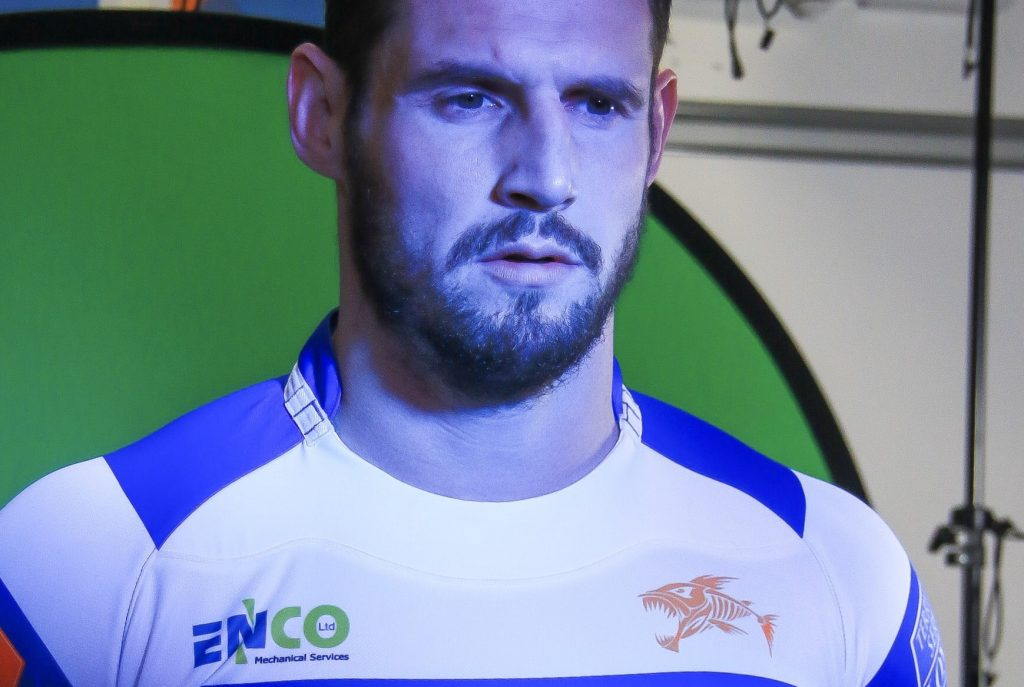ENCO Ltd are proud to be Sponsors of the Halifax Rugby League Club 2020 Home Jersey