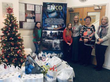 ENCO Ltd Food Donation